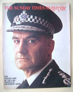 <!--1974-11-03-->The Sunday Times magazine - Sir Robert Mark cover (3 Novem