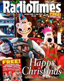 <!--2008-12-20-->Radio Times magazine - Wallace and Gromit cover (20 Decemb