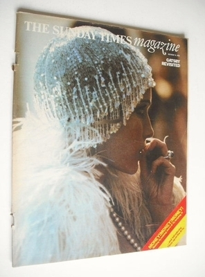 <!--1973-10-14-->The Sunday Times magazine - Gatsby Revisited cover (14 Oct