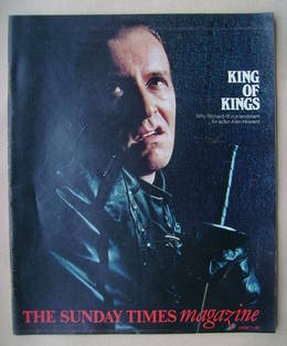 <!--1981-01-11-->The Sunday Times magazine - King Of Kings cover (11 Januar