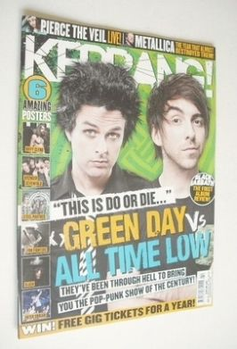 <!--2013-06-01-->Kerrang magazine - Green Day & All Time Low cover (1 June
