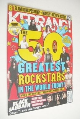 <!--2013-06-08-->Kerrang magazine - The 50 Greatest Rock Stars In The World