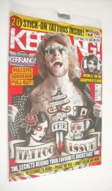 <!--2013-06-29-->Kerrang magazine - The Tattoo Issue cover (29 June 2013 -