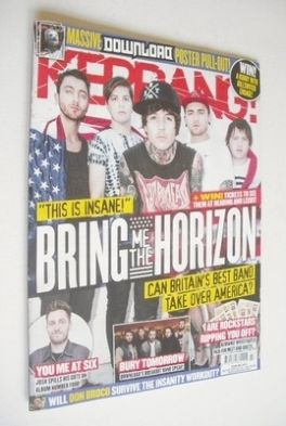 <!--2013-07-06-->Kerrang magazine - Bring Me The Horizon cover (6 July 2013