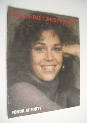 <!--1977-06-19-->The Sunday Times magazine - Jane Fonda cover (19 June 1977