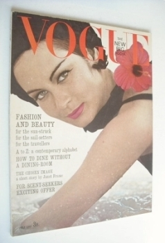 British Vogue magazine - July 1963 (Vintage Issue)