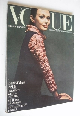 <!--1963-12-->British Vogue magazine - December 1963 (Vintage Issue)