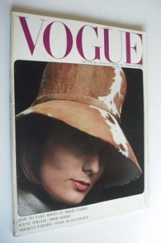 British Vogue magazine - November 1963 (Vintage Issue)