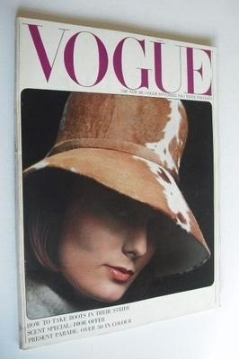 <!--1963-11-->British Vogue magazine - November 1963 (Vintage Issue)