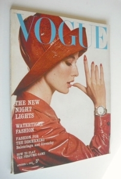 British Vogue magazine - 1 October 1963 (Vintage Issue)