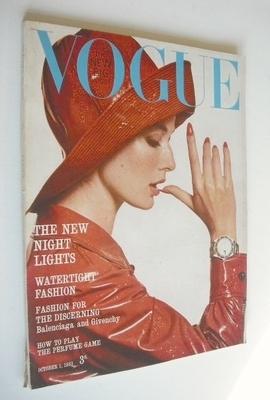 <!--1963-10-01-->British Vogue magazine - 1 October 1963 (Vintage Issue)