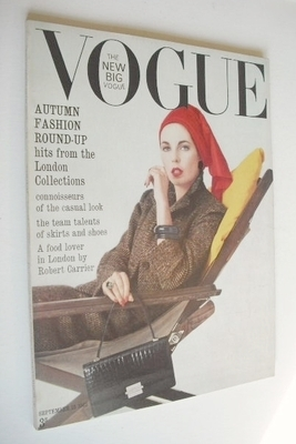 <!--1963-09-15-->British Vogue magazine - 15 September 1963 (Vintage Issue)