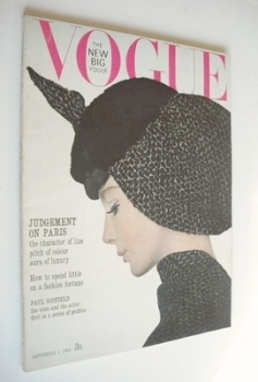 British Vogue magazine - 1 September 1963 (Vintage Issue)
