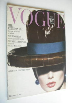 British Vogue magazine - 15 April 1963 (Vintage Issue)