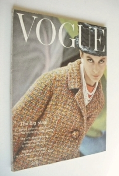 British Vogue magazine - February 1963 (Vintage Issue)