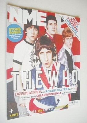 <!--2013-06-15-->NME magazine - The Who cover (15 June 2013)