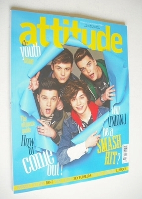 <!--2013-06-->Attitude magazine - Union J cover (June 2013)