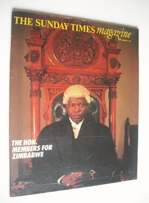 <!--1980-11-16-->The Sunday Times magazine - The Hon. Members of Zimbabwe c