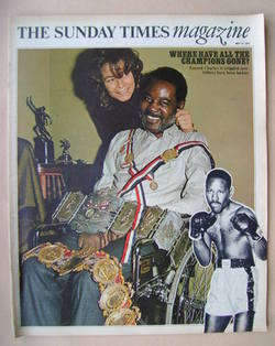<!--1972-05-21-->The Sunday Times magazine - Ezzard Charles cove (21 May 19