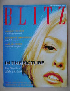<!--1988-02-->Blitz magazine - February 1988 - Patsy Kensit cover