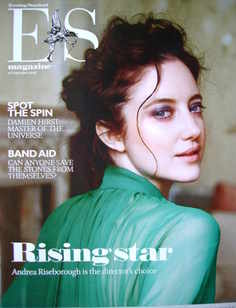 <!--2008-09-26-->Evening Standard magazine - Andrea Riseborough cover (26 S