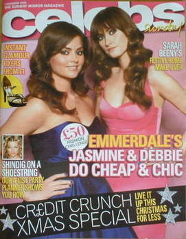<!--2008-12-07-->Celebs magazine - Charley Webb and Jenna-Louise Coleman co