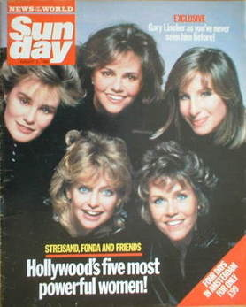 <!--1986-08-03-->Sunday magazine - 3 August 1986 - Barbra Streisand, Sally