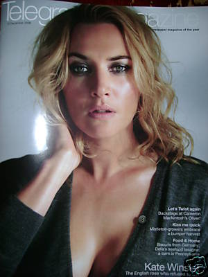 <!--2008-12-13-->Telegraph magazine - Kate Winslet cover (13 December 2008)