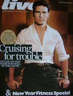 Live magazine - Tom Cruise cover (11 January 2009)