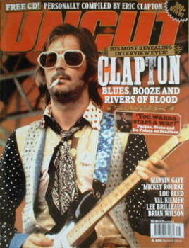 Uncut magazine - Eric Clapton cover (May 2004)
