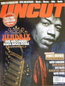 Uncut magazine - Jimi Hendrix cover (March 2004)