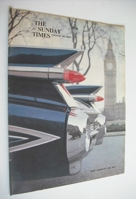 <!--1962-04-08-->The Sunday Times Colour Section magazine - How American Ar