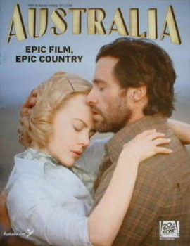 Australia supplement - Nicole Kidman and Hugh Jackman cover (7 December 2008)