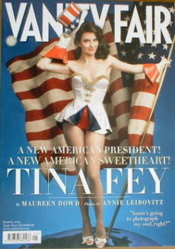 Vanity Fair magazine - Tina Fey cover (January 2009)