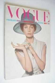 British Vogue magazine - February 1965 - Sue Murray cover