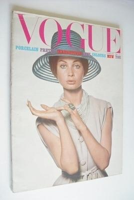 <!--1965-02-->British Vogue magazine - February 1965 - Sue Murray cover