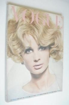 British Vogue magazine - May 1965 - Sue Murray cover