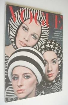 British Vogue magazine - 15 September 1965