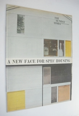 <!--1962-08-12-->The Sunday Times Colour Section magazine - A New Face For