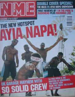 <!--2001-07-14-->NME magazine - 14 July 2001