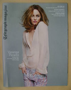 <!--2013-07-20-->Telegraph magazine - Vanessa Paradis cover (20 July 2013)