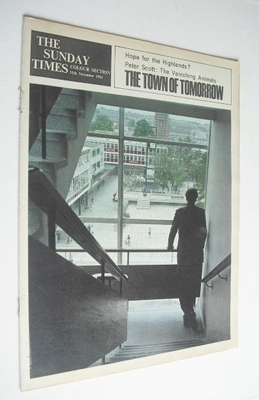 <!--1962-11-11-->The Sunday Times Colour Section magazine - The Town Of Tom