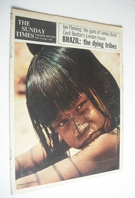 <!--1962-11-18-->The Sunday Times Colour Section magazine - Brazil The Dyin