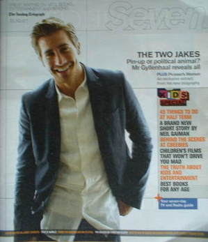 <!--2007-10-21-->Seven magazine - Jake Gyllenhaal cover (21 October 2007)