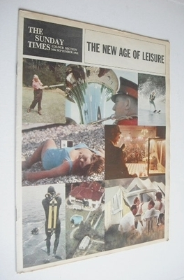 <!--1962-09-16-->The Sunday Times Colour section - The New Age Of Leisure c