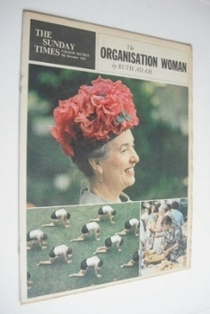 The Sunday Times Colour section - The Organisation Woman cover (9 December 1962)