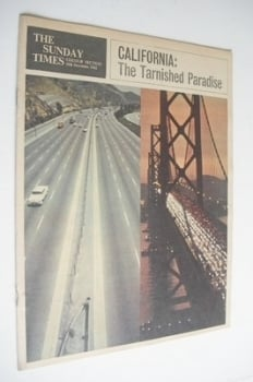 The Sunday Times Colour section - California cover (16 December 1962)