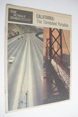 <!--1962-12-16-->The Sunday Times Colour section - California cover (16 Dec