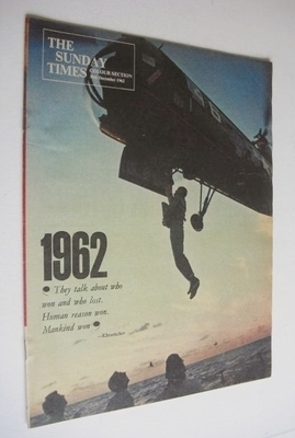 <!--1962-12-30-->The Sunday Times Colour section - John Glenn cover (30 Dec