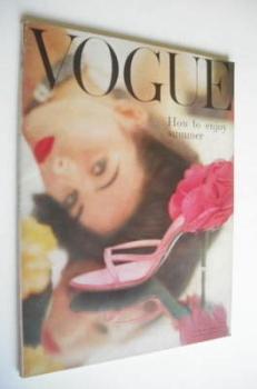 British Vogue magazine - June 1957 (Vintage Issue)